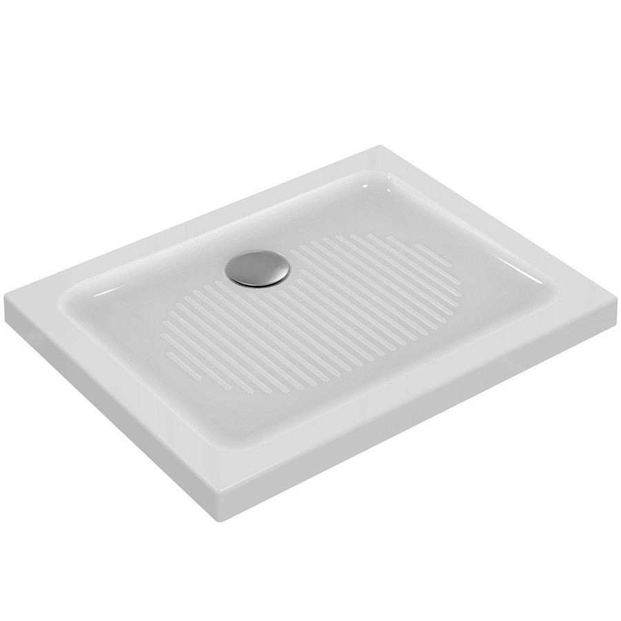 Ideal Standard Connect Sprchová vanička keramická 900 x 700 mm, bílá T267101