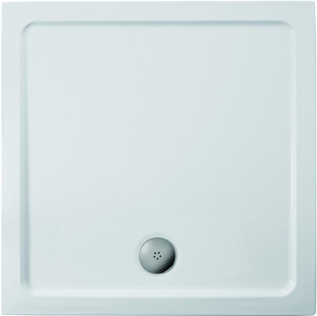 Ideal Standard Simplicity Stone Sprchová vanička litý mramor 910 x 910 mm, bílá L504501