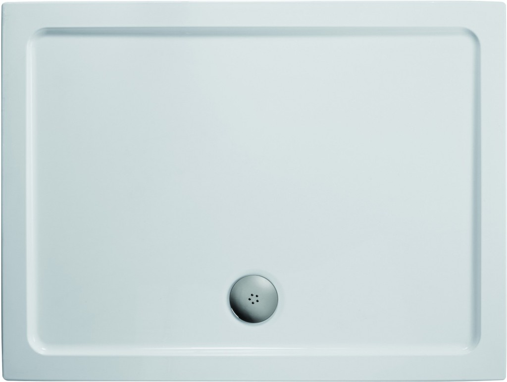 Ideal Standard Simplicity Stone Sprchová vanička litý mramor 1410 x 910 mm, bílá L505301
