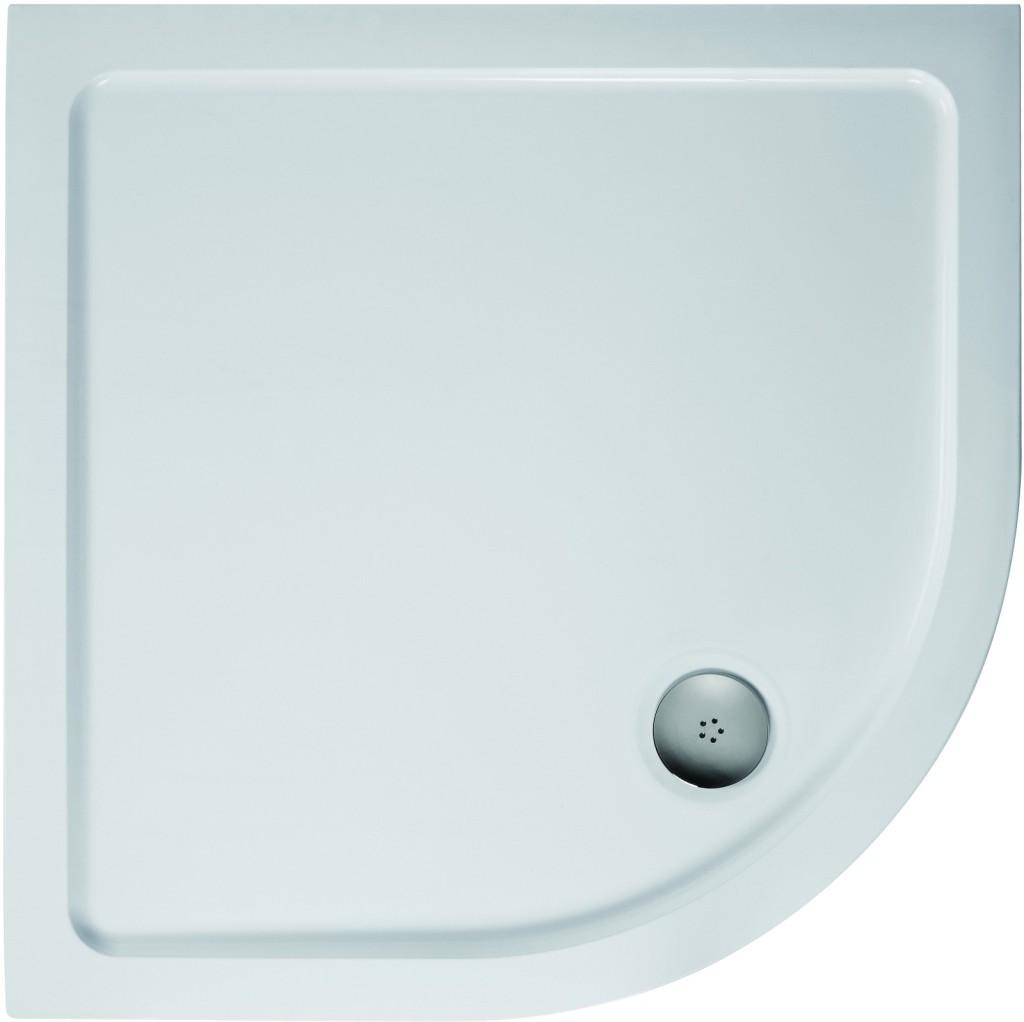 Ideal Standard Simplicity Stone Sprchová vanička litý mramor 910 x 910 mm, bílá L505801