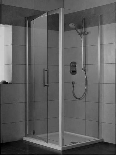 Ideal Standard Synergy Sprchové dveře pivotové 90 cm, silver bright (lesklá stříbrná) L6362EO