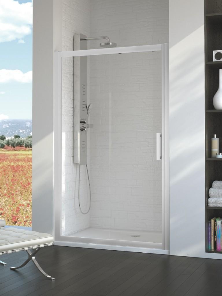 Ideal Standard Synergy Sprchové dveře posuvné 100 cm, silver bright (lesklá stříbrná) L6389EO