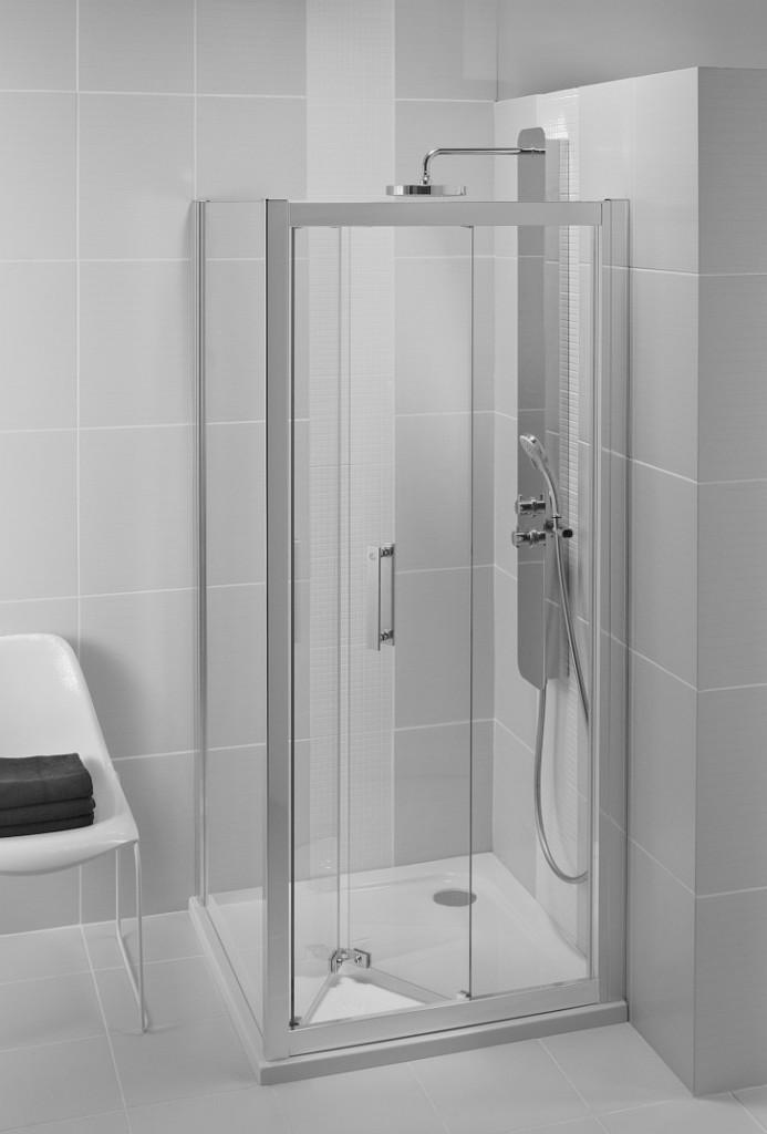 Ideal Standard Synergy Sprchové dveře skládací 90 cm, silver bright (lesklá stříbrná) L6369EO