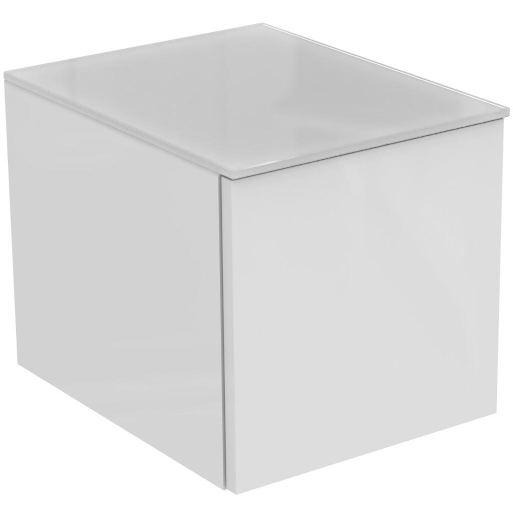Ideal Standard Tonic II Postranní skříňka 350 x 440 x 350 mm ke skříňce pod umyvadlo, lesklý lak bílý R4307WG