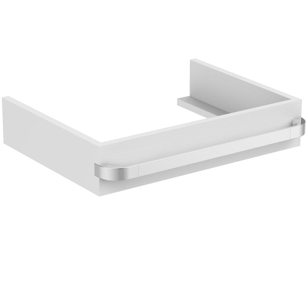 Ideal Standard Tonic II Nábytková konzole 597 x 440 x 120 mm, lesklý lak světle šedý R4310FA