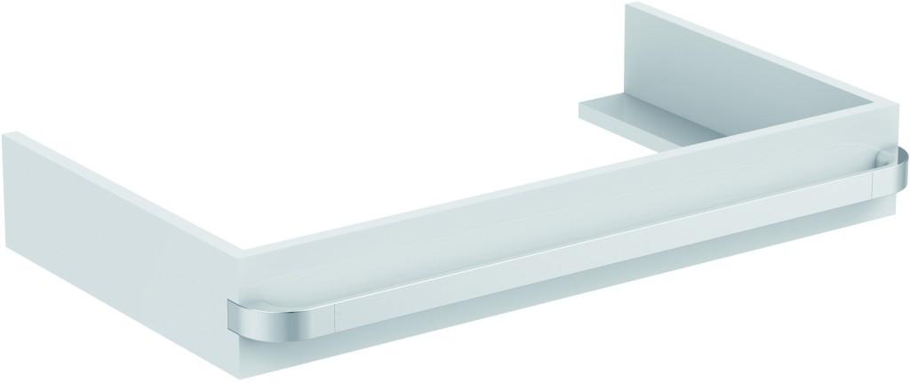 Ideal Standard Tonic II Nábytková konzole 797 x 440 x 120 mm, lesklý lak světle šedý R4311FA