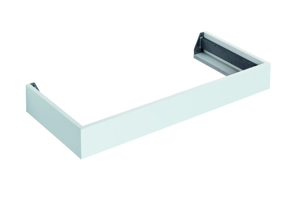 Ideal Standard Tonic II Nábytková konzole 997 x 440 x 120 mm, lesklý lak světle šedý R4312FA
