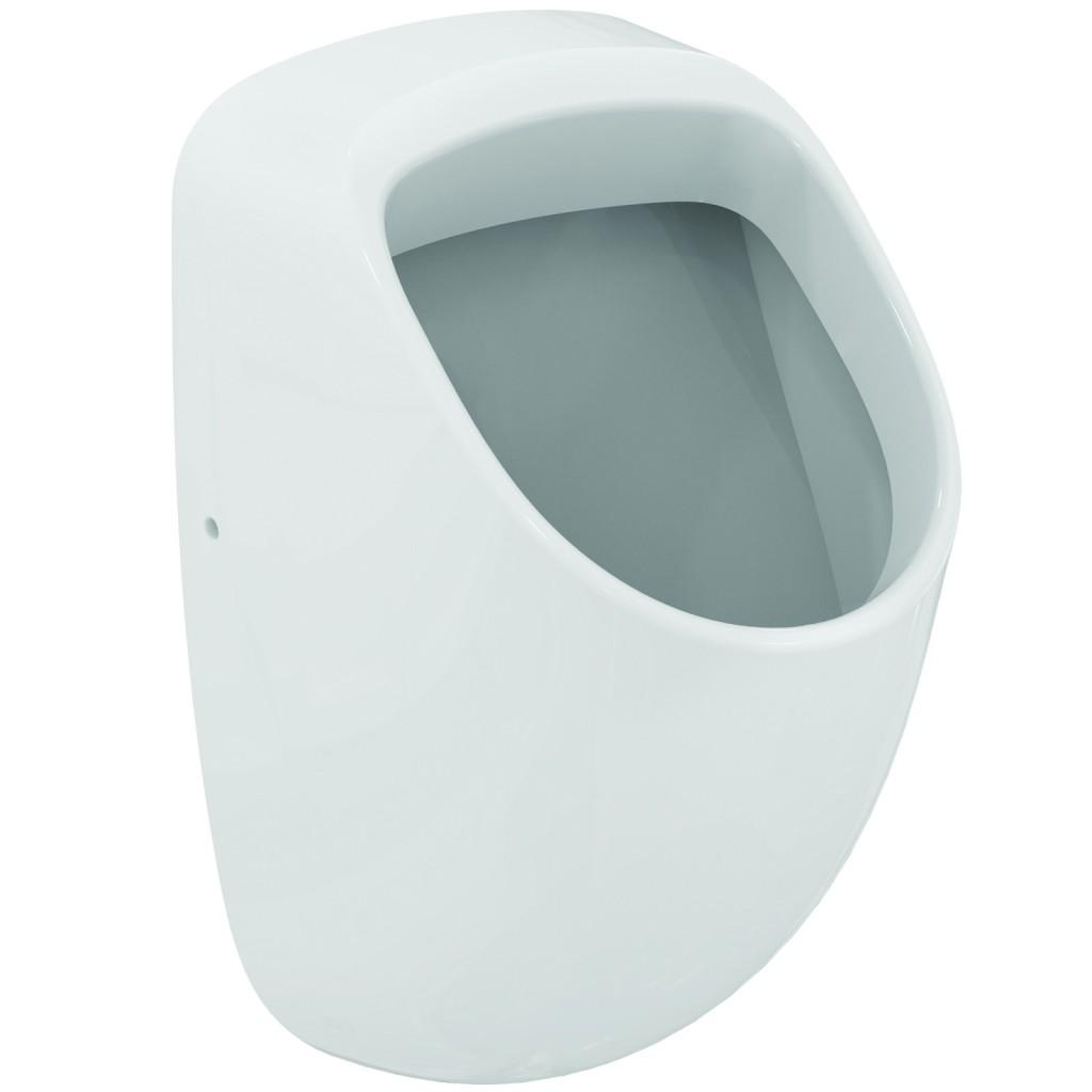 Ideal Standard Urinály Urinál Connect 310 x 335 x 650 mm (přítok zakrytý), bílá s Ideal plus E5671MA