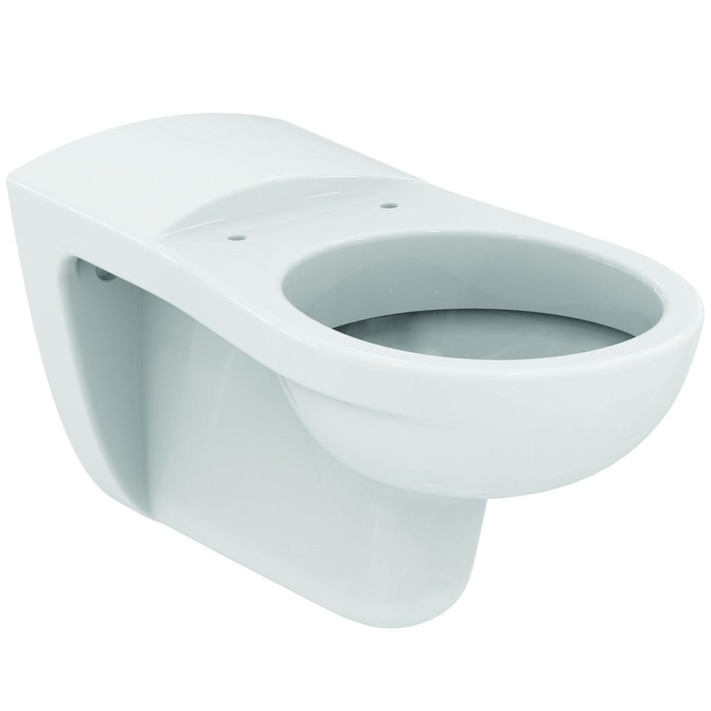 Ideal Standard Contour 21 Závěsný klozet 700 x 370 x 360 mm s hlubokým splachováním pro tělesně postižené, bílá V340401