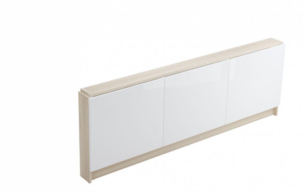 CERSANIT - NÁBYTKOVÝ PANEL K VANĚ SMART 160 WHITE FRONT (S568-024)