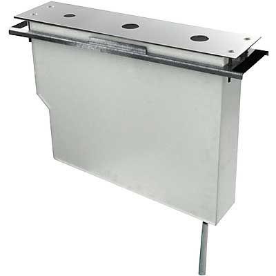 TRES - Set nádrže pro stojánkové vanové baterie Snadná montáž shora. Bez otvorů (Kód: 1.07.161.02 (106245)