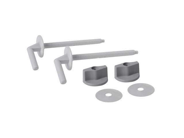 CERSANIT - PLASTIC SCREW SET FOR DUROPLAST SEAT (K99-0002)