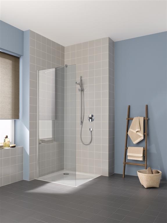 Kermi Boční stěna Cada XS TWF 08020 775-800/2000 bílá ESG čiré Clean boční stěna volně stojící (CCTWF080202PK)