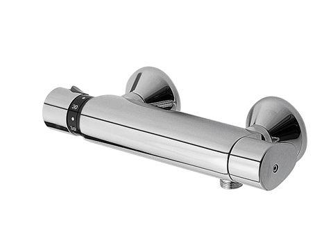 TRES - Termostatická sprchová baterie BASIC (Ruční sprcha (1.34.821) s nastavitelným držákem, pro (1901629)