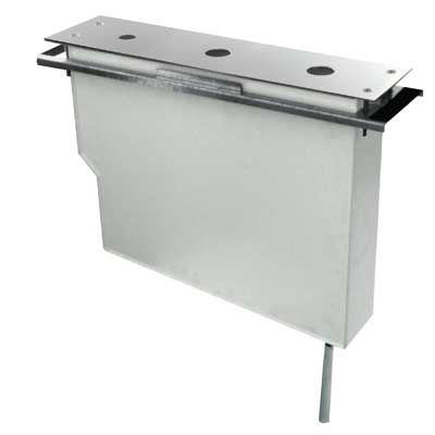 TRES - Set nádrže pro stojánkové vanové baterie Snadná montáž shora. Bez otvorů (Kód: 061.161.01, (162245)