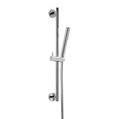 TRES - Sprchová sada O 19 mm, délka 850 mm Flexi hadice SATIN (03462902)
