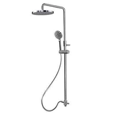 TRES - Sprchová souprava, proti usaz. vod. kamene Pevná sprcha O 250 mm. Flexi hadice SATIN. Ručn (161213)