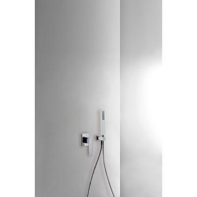 TRES - Podomítkový jednopákový sprchový set s uzávěrem a regulací průtoku. · Včetně podomítkového (20217703)
