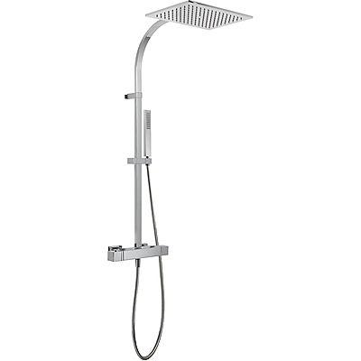 TRES - Souprava termostatické sprchové baterie · Pevná sprcha 320x220 mm. s kloubem. Materiál mos (20219501)