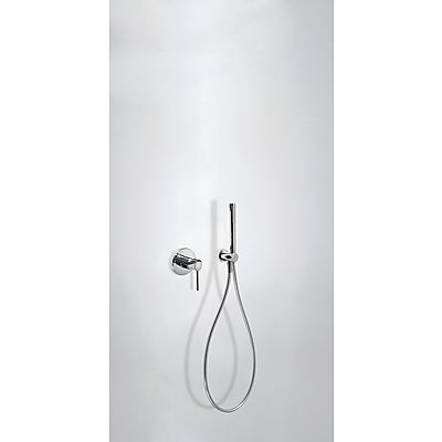 TRES - Podomítkový jednopákový sprchový set s uzávěrem a regulací průtoku. · Včetně podomítkového (26217792)
