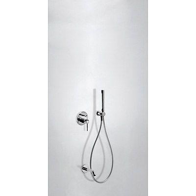 STUDY-TRES Podomítkový jednopákový sprchový set s uzávěrem a regulací p ( 26218003 )