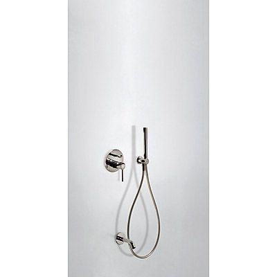 TRES - Podomítkový jednopákový sprchový set s uzávěrem a regulací průtoku. · Včetně podomítkového (26218003AC)