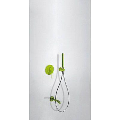 TRES - Podomítkový jednopákový sprchový set s uzávěrem a regulací průtoku. · Včetně podomítkového (26218003TVE)