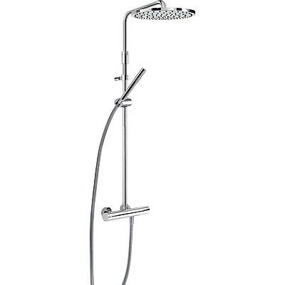 TRES - Souprava termostatické sprchové baterie · Pevná sprcha O 300 mm. s kloubem. Materiál mosaz (26121001)