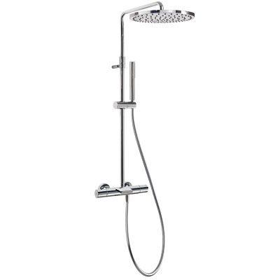 TRES - Souprava termostatické baterie pro vanu-sprchu · Pevná sprcha O 300 mm. s kloubem. Materiá (26231201)