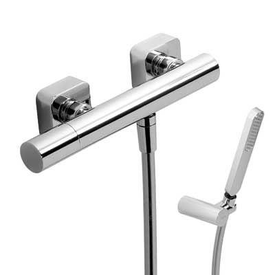 TRES - Jednopáková sprchová baterie Ruční sprcha (034.639.01) s nastavitelným držákem, proti usaz (20016701)