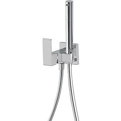 TRES - Jednopáková podomítková baterie pro bidet WC Vyměnitelný držák zprava či zleva. Sprchová m (00612302)