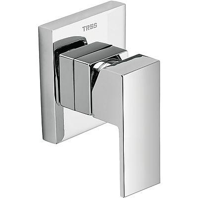 TRES - Vestavěná jednopáková sprchová baterie (jednocestná) včetně podomítkového tělesa (106177)