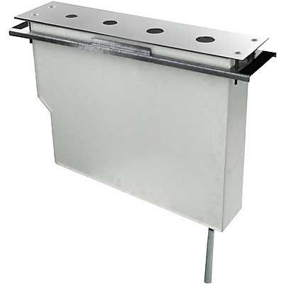 TRES - Set nádrže pro stojánkové vanové baterie Snadná montáž shora. Bez otvorů (Kód: 1.63.145, 1 (134345)