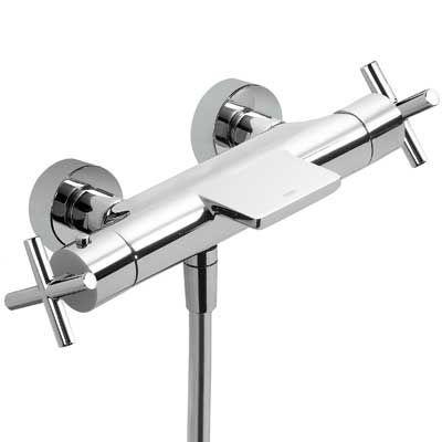 TRES - Termostatická baterie pro vanu-sprchu s kaskádou. (06317201)