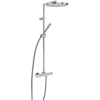 TRES - Souprava termostatické sprchové baterie MAX · Pevná sprcha O 300 mm. s kloubem. Materiál m (06139301)