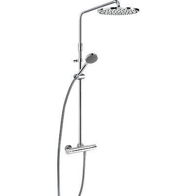 TRES - Souprava termostatické sprchové baterie MAX · Pevná sprcha O 300 mm. s kloubem. Materiál m (06121001)