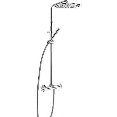 TRES - Souprava termostatické sprchové baterie · Pevná sprcha O 300 mm. s kloubem. (1.34.137.30). (06321101)