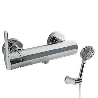 TRES - Jednopáková sprchová baterie Ruční masážní sprcha O 100 mm. (5 funkcí) (1.34.748) s nastav (181468)