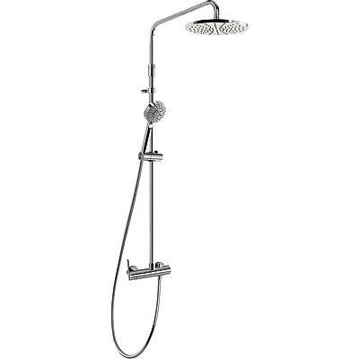 LEX-TRES Sprchová souprava, pevná sprcha, ruční sprcha, hadice (08119702)