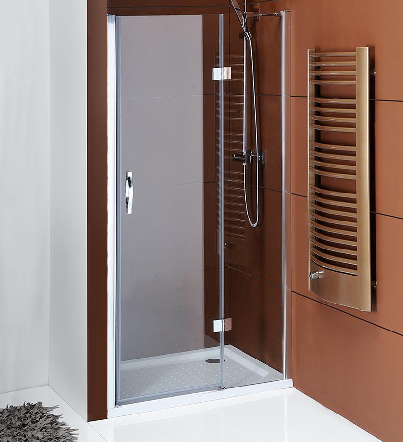 GELCO - LEGRO sprchové dveře do niky 900mm, čiré sklo (GL1285)