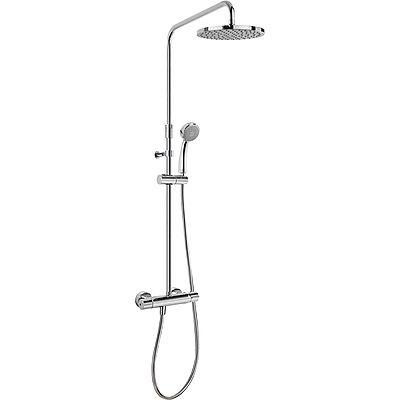 TRES - Souprava termostatické sprchové baterie FLAT · Pevná sprcha O 200 mm. s kloubem. · Ruční s (20438703)
