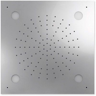 TRES - Stropní sprchové kropítko z nerez. oceli, systém proti usaz. vod. kamene CHROMOTHERAPIE 50 (29996201)