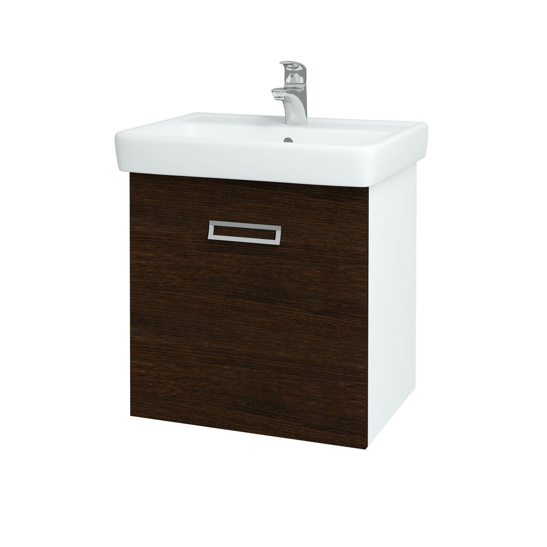 Dřevojas - Koupelnová skříňka Q MONO 600 - D08 Wenge (60544)