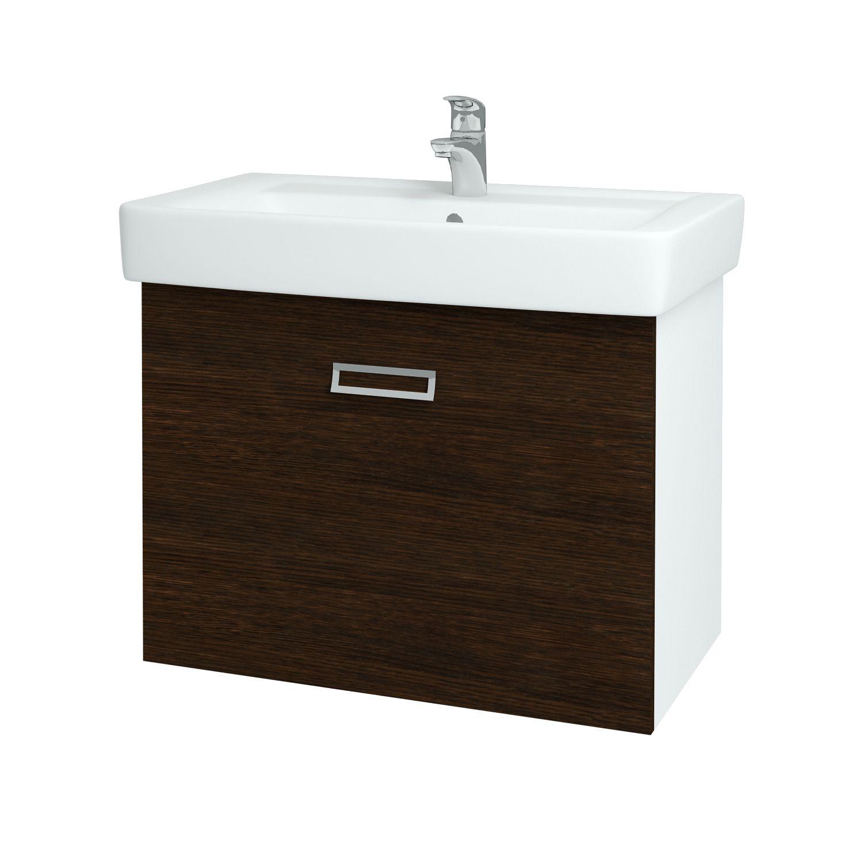 Dřevojas - Koupelnová skříňka Q MONO 800 - D08 Wenge (60605)