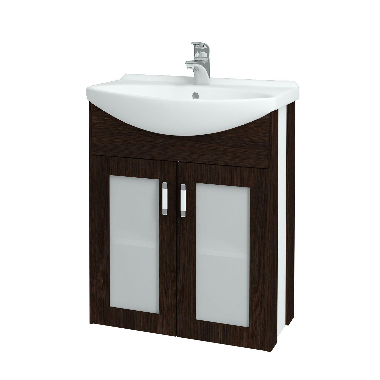 Dřevojas - Koupelnová skříňka DREJA PLUS 65 - D08 Wenge (90060)