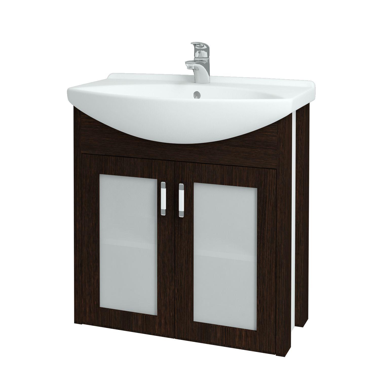Dřevojas - Koupelnová skříňka DREJA PLUS 75 - D08 Wenge (90169)
