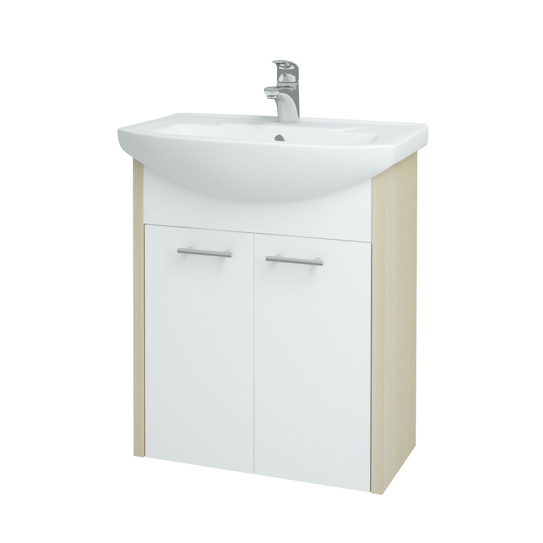 Dřevojas - Koupelnová skříňka HIT 65 - D02 Bříza (53102)