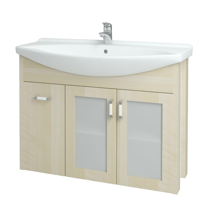Dřevojas - Koupelnová skříňka DREJA PLUS 105 - D02 Bříza (90459)