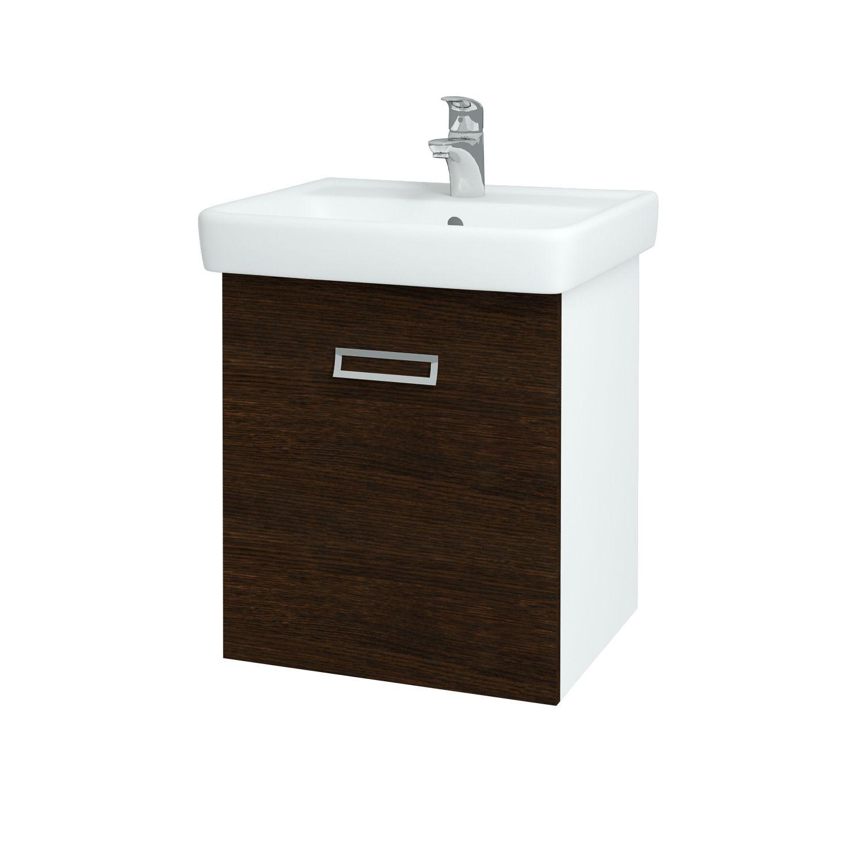 Dřevojas - Koupelnová skříňka Q MONO 550 - D08 Wenge (61190)
