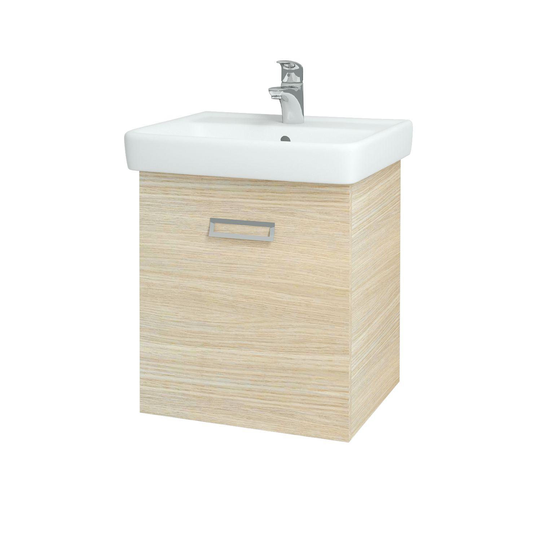 Dřevojas - Koupelnová skříňka Q MONO 550 FC - D04 Dub (61404)